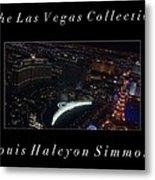 The Las Vegas Collection Metal Print