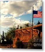 The Last Outpost Old Tuscon Arizona Metal Print