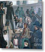 The Last Slave Sale Metal Print by Photo Researchers