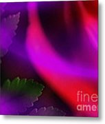 The Leaf And The Rose Metal Print by Judi Bagwell