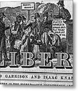 The Liberator Masthead Metal Print