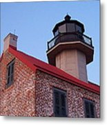 The Light At East Point Metal Print