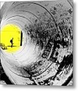 The Light At The End Of The Tunnel Metal Print