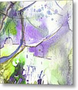 The Light On Planet Goodaboom Metal Print