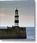 The Light Seaham Harbour Metal Print