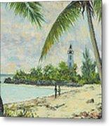 The Lighthouse - Zanzibar Metal Print