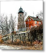 The Lighthouse Metal Print by Ken Marsh