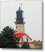 The Lighthouse Of Tatoosh Metal Print