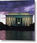 The Lincoln Memorial At West End Metal Print