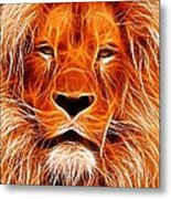 The Lions King Metal Print