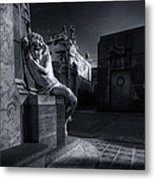 The Little Angel Recoleta Cemetery Ba Metal Print