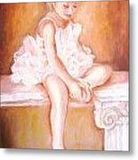 The Little Ballerina Metal Print