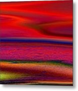 The Lonely Beach Metal Print