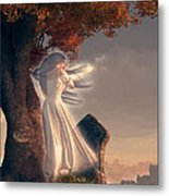 The Lonely Ghost Of October Metal Print