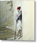 The Lonely Man Metal Print