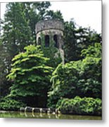 The Longwood Gardens Castle Metal Print