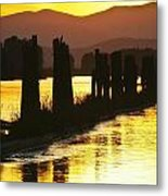 The Lost River Of Gold Metal Print