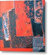 The Ludic Trajectories Of My Existence  Metal Print