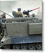 The M113 Tracked Infantry Vehicle Metal Print