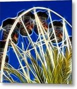 The Magic Ferris Wheel Ride Metal Print