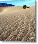 The Magic Of Sand Metal Print