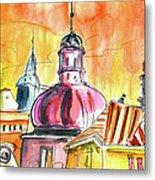 The Magical Roofs Of Prague 01 Bis Metal Print