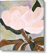 The Magnolia Metal Print