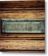 The Mail Slot Metal Print