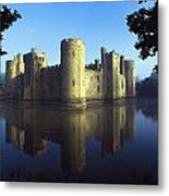 The Majestic Bodiam Castle And Its Metal Print