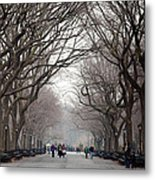 The Mall Central Park Metal Print