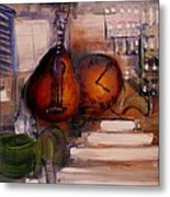 The Mandolin Metal Print