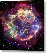 The Many Sides Of The Supernova Remnant Metal Print by Nasa