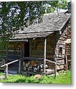 The Mark Twain Family Cabin Metal Print