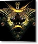 The Mask Metal Print by Ricky Kendall