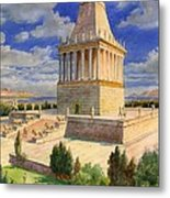 The Mausoleum At Halicarnassus Metal Print by English School