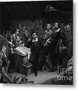 The Mayflower Compact, 1620 Metal Print