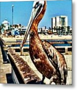 The Mayor Of Venice Pier Metal Print