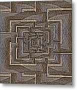 The Maze Within Metal Print