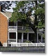 The Mclean House In Appomattox Virgina Metal Print by Teresa Mucha