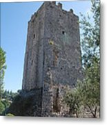 The Medieval Tower Metal Print