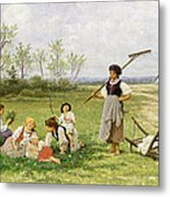 The Midday Rest Metal Print