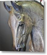The Mighty Horse Metal Print