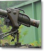 The Milan, Guided Anti-tank Missile Metal Print