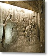 The Miracle At Cana In Galilee - Wieliczka Salt Mine Metal Print