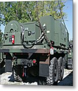 The Mk48 Logistics Vehicle System Metal Print