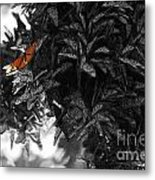 The Monarch Stands Alone Metal Print