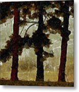 The Morning Stroll Metal Print