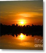 The Most Beautiful Sunset Ever Seen Metal Print