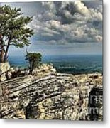 The Mountain Lookout Metal Print