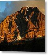 The Mountain Says Good Morning Metal Print